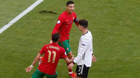 Роналдо показа изящна техника, подигра се с Рюдигер