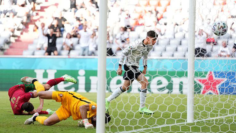 Автогол на Рубен Диаш изравни резултата за Германия срещу Португалия