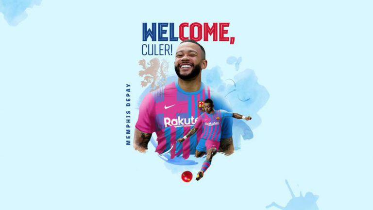 Барселона обяви трансфера на Депай