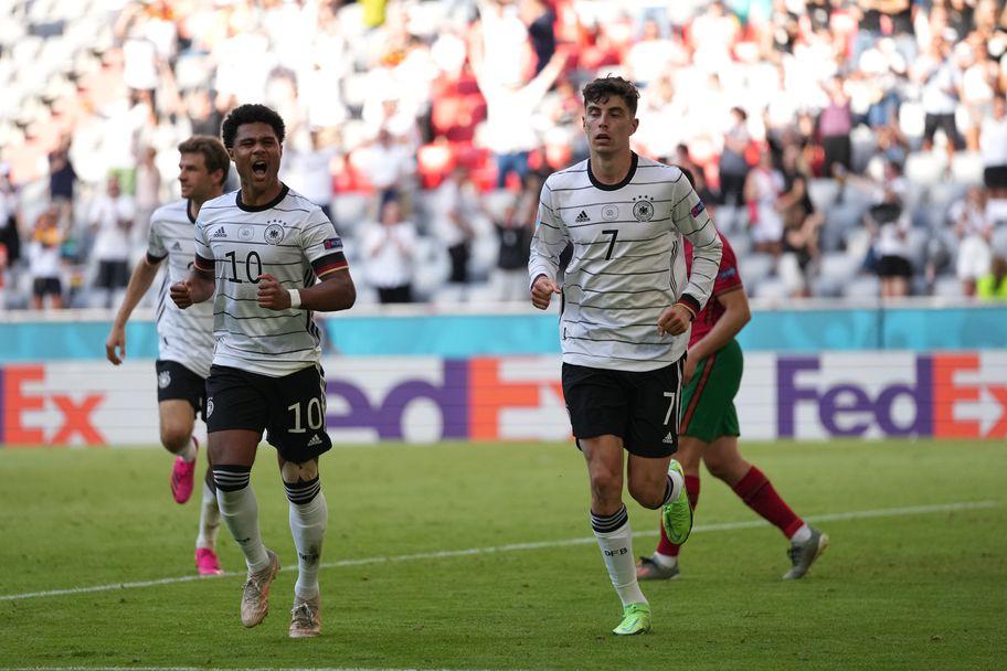 Португалия - Германия 2:4