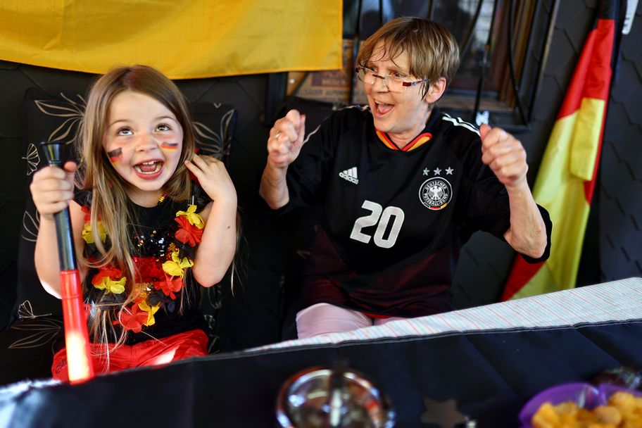 Атрактивна подкрепа за Германия