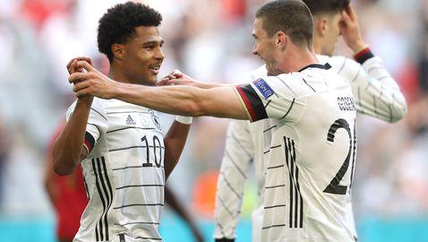 Германия постави рекорд по отбелязани голове на световни и европейски първенства