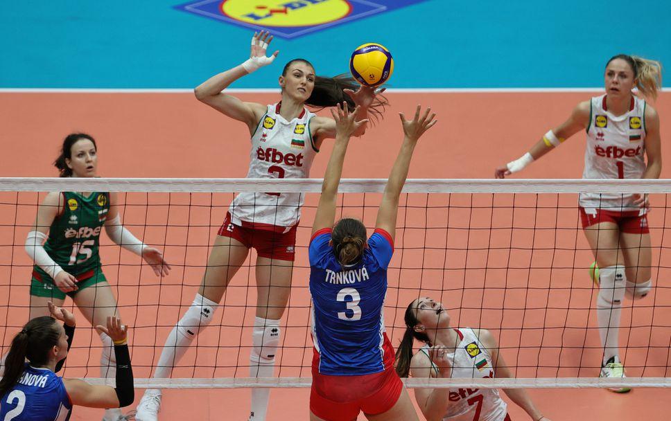 Полуфинал на Златната европейска лига: България - Чехия 3:0