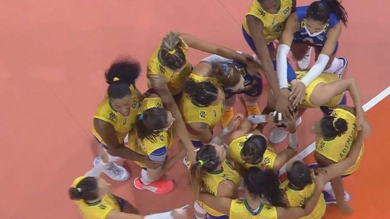 Лига на нациите, Жени: Бразилия - Турция 3:0