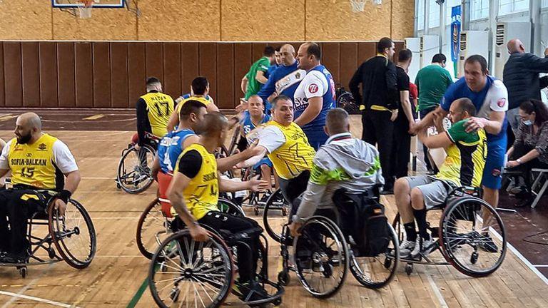 Нова кампания за събиране на средства за автобус за баскетболисти на колички стартира виртуална платформа 🏀