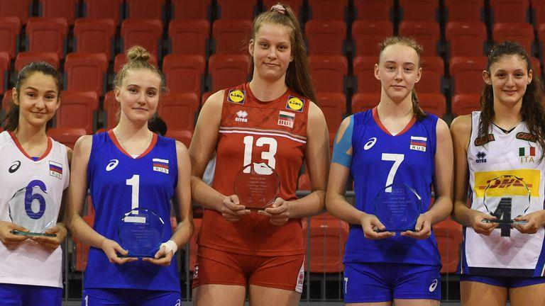 Ива Дудова е №1 в 3 от класациите на Евроволей U16 🏐