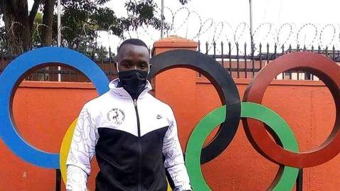 Избягалият атлет от Уганда е бил заснет от охранителна камера на гарата в Нагоя