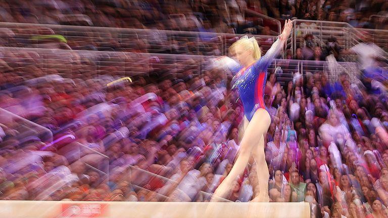 Резерва от женски отбор на САЩ по спортна гимнастика е дала положителен тест за COVID-19