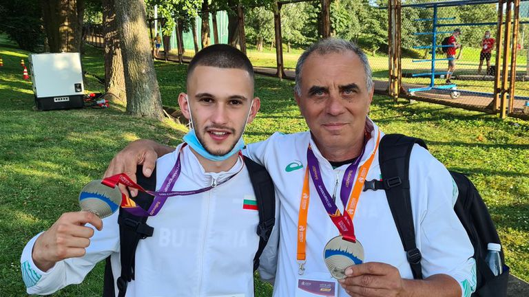 Българските треньори също получиха европейски медали