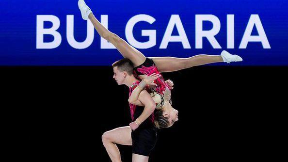 България с историческа европейска титла по аеробика