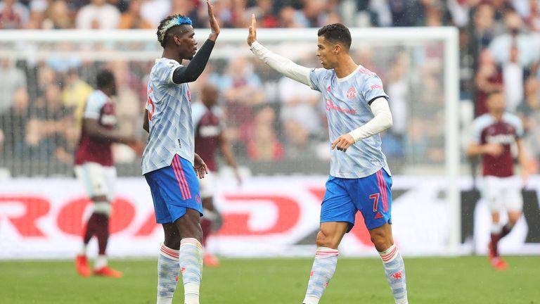 Уест Хам 1:1 Манчестър Юнайтед, отново гол на Кристиано Роналдо (гледайте тук)