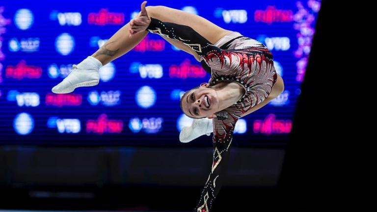 Дарина Пашова донесе втора титла за България от ЕП по спортна аеробика в Пезаро
