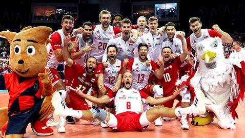 Полша се утеши с бронзовите медали, след чиста победа над Сърбия 🏐