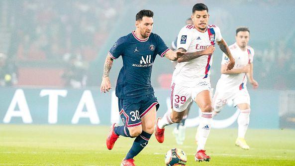 Пари Сен Жермен излъга Лион с 2:1 след победен гол в 93-та минута