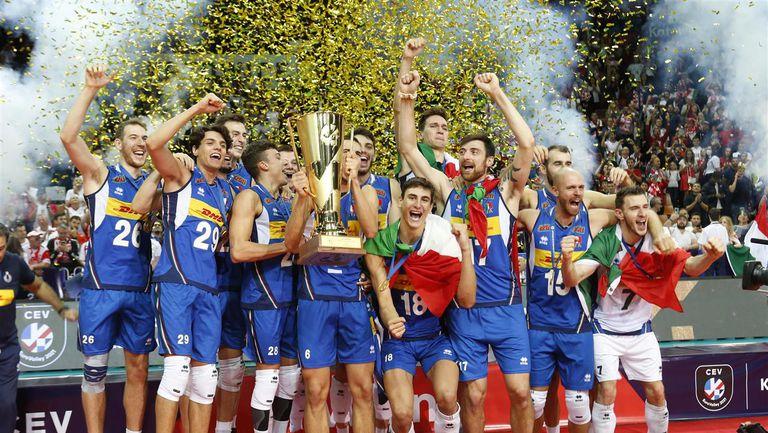 Италия е новият волейболен шампион на Европа!🏐