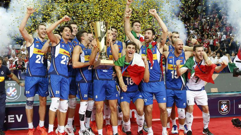 Италия с титлата на Европа по волейбол след драма срещу Словения