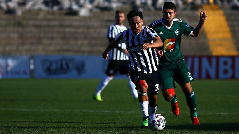 Станислав Костов върна едно попадение за Пирин срещу Локомотив (Пловдив)