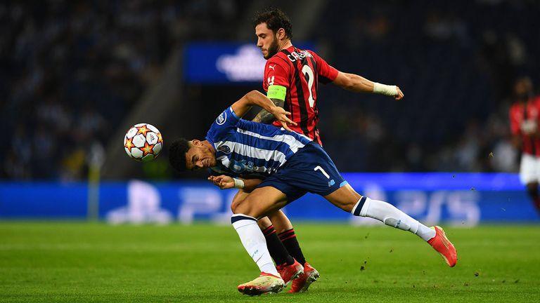 Порто 1:0 Милан, Ибрахимович влезе в игра