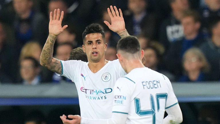 Брюж 0:1 Манчестър Сити, Кансело откри резултата
