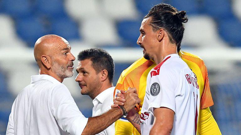 Ибрахимович ще е титуляр в един необикновен мач за Пиоли