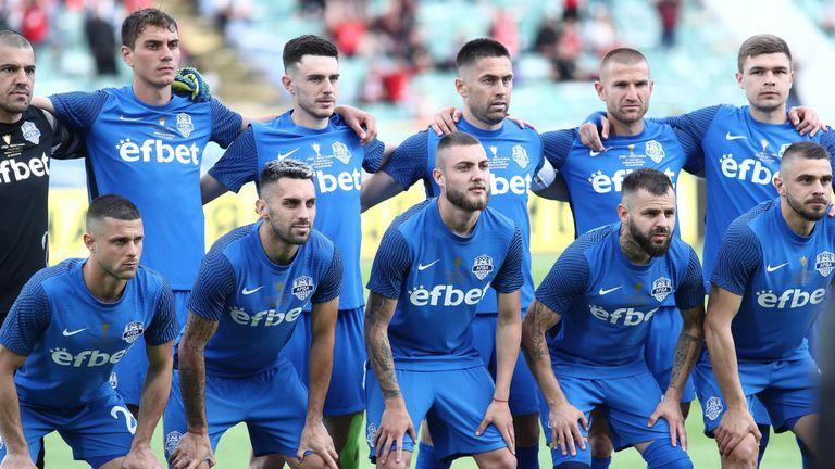Футболистите на Арда впечатлиха с изпълнението си на националния химн
