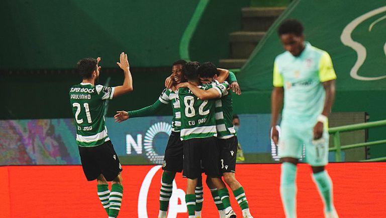 Спортинг Лисабон разгроми Маритимо с 5:1