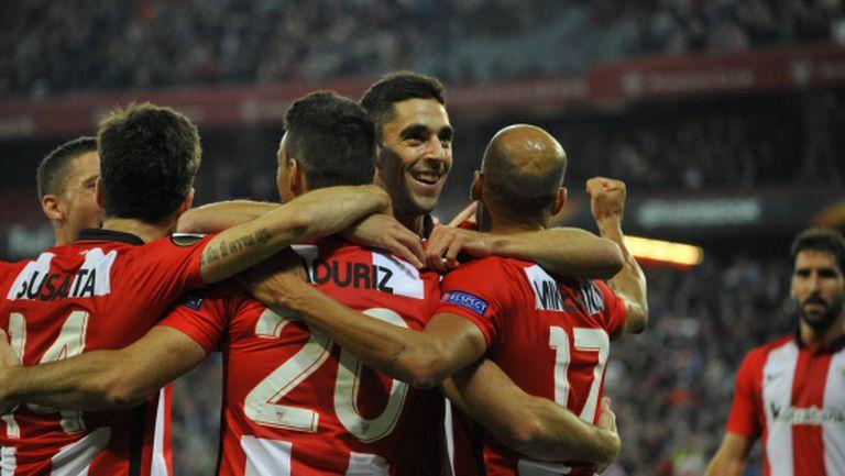 Атлетик Билбао обърна баварци, Монако се добра до точка (видео)