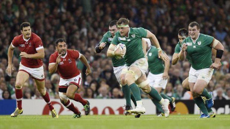 Ирландия започна ударно с 50:7 срещу Канада