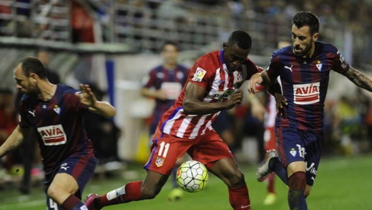 Атлетико показа класа срещу баския дух (видео)
