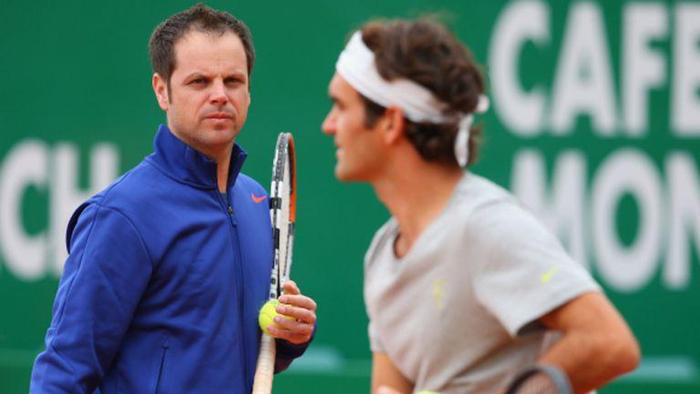 Треньорът на Федерер: Продължаваме да развиваме играта му