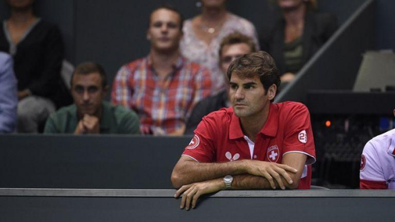 """Роджър Федерер: Една титла от """"Купа Дейвис"""" ми е достатъчна"""