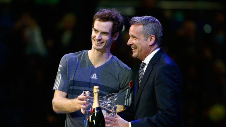 """Шефът на ATP: Финалният """"Мастърс"""" е задължителен, Мъри трябва да играе"""