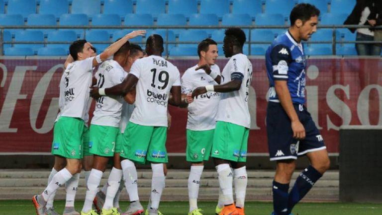 Пета поредна победа за Сент Етиен