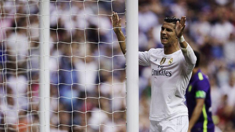 Реал Мадрид създаде торнадо пред вратата, но не вкара (видео + галерия)