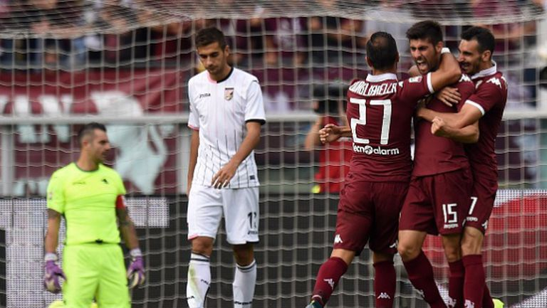 Палермо преклони глава пред Торино, Чочев с цял мач (видео)