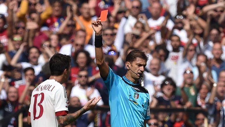 Ужасен старт за защитата на Милан
