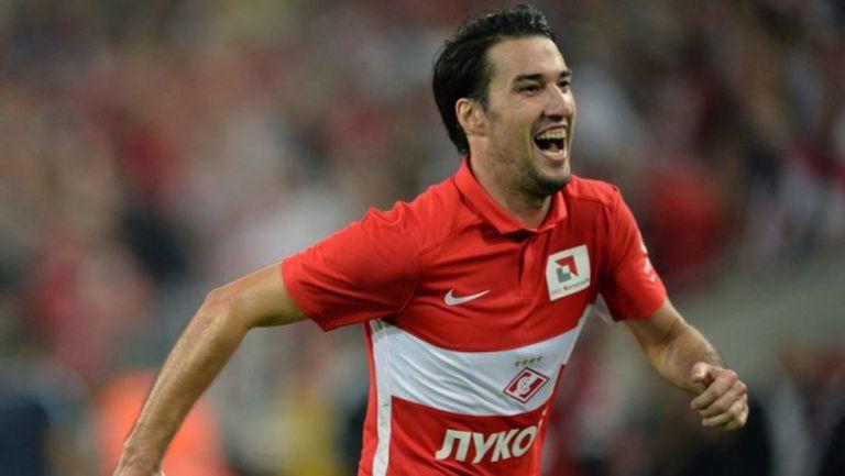 Ивелин Попов остана втори в класацията за най-добър футболист на Спартак