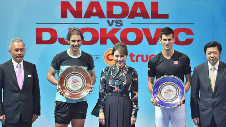 Джокович спечели шоуто с Надал в Банкок