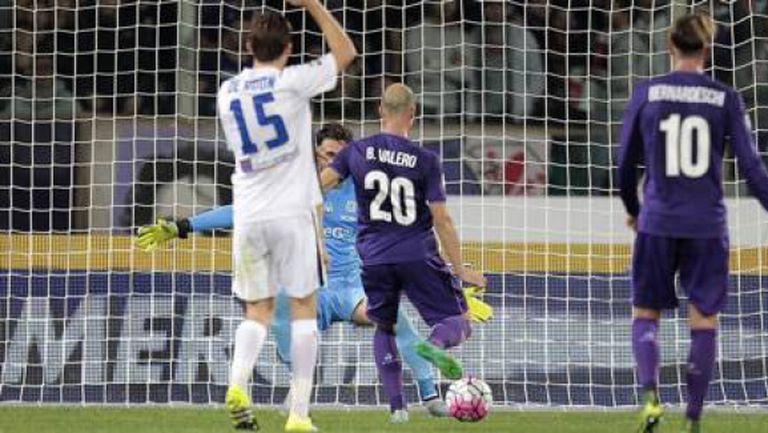 Фиорентина си върна върха в Серия А след бой над Аталанта (видео)