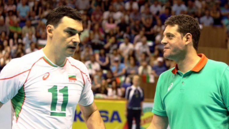 Пламен Константинов: Владо Николов е Лили Ивановa на волейбола