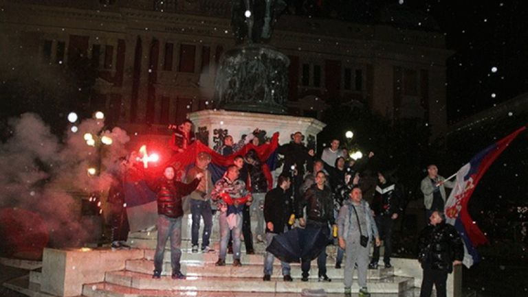 Сърбия не спа след боя над Албания