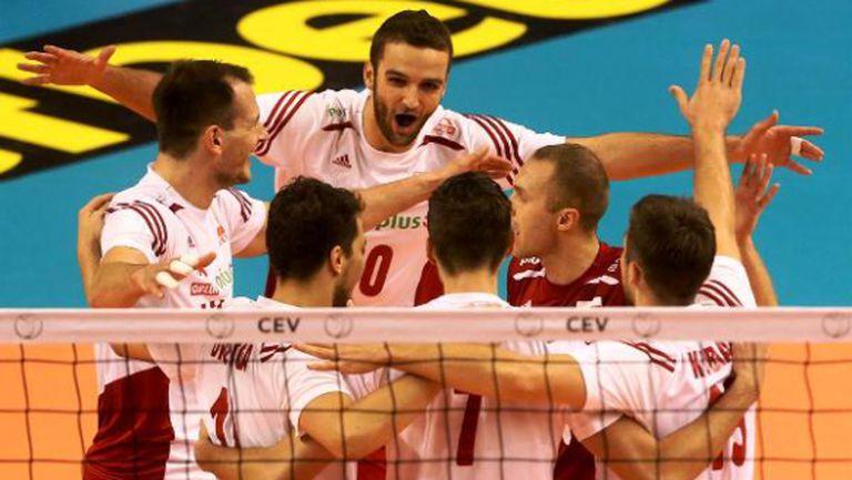 Полша с чисто 3:0 над Белгия във Варна