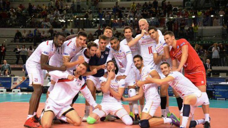 Франция тръгна с лесно 3:0 над Хърватия на Евроволей 2015