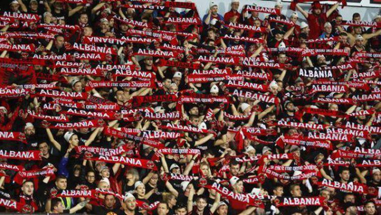Албания взе поправителния и ликува с исторически успех (видео)