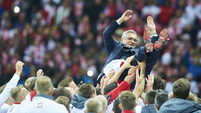 Селекционерът на Полша: Вярвам, че големите успехи тепърва предстоят