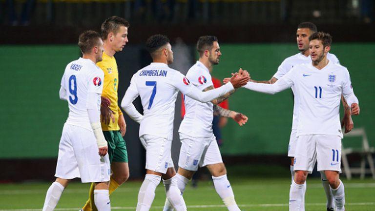 Англия е шестият тим, който приключва евроквалификации с пълен актив