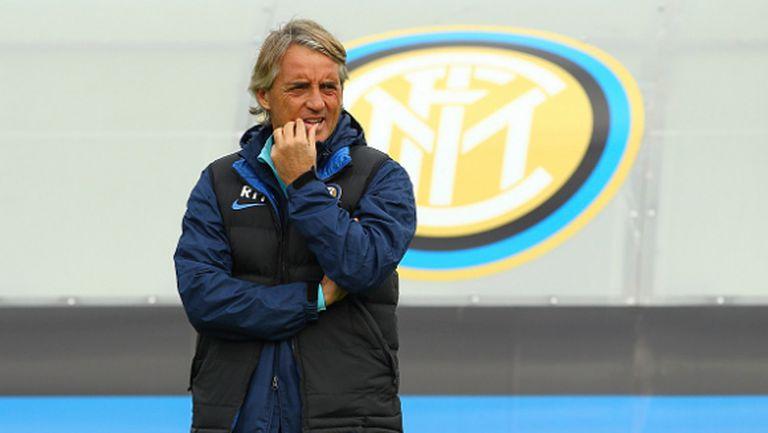 Манчини: Интер не е готов за титлата