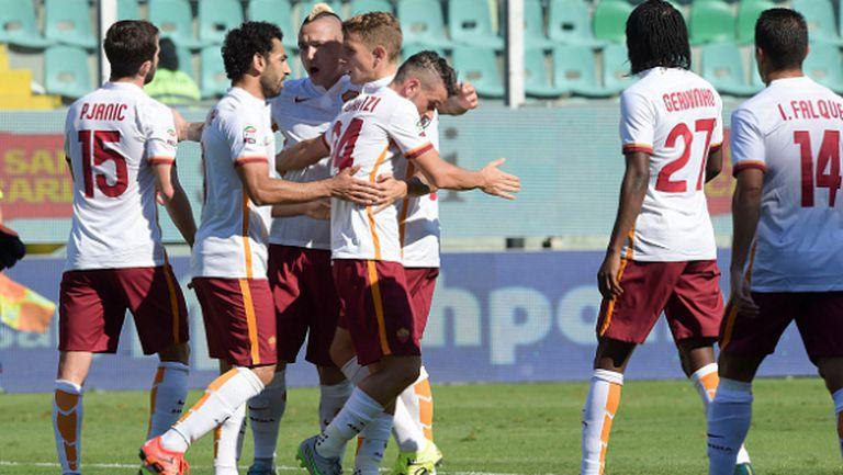 Палота: Рома има отбор да спечели Скудетото
