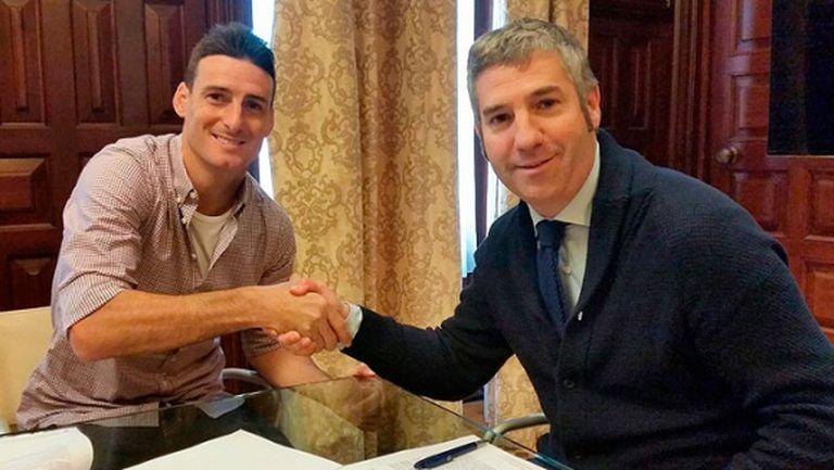 Адурис с нов договор в Билбао