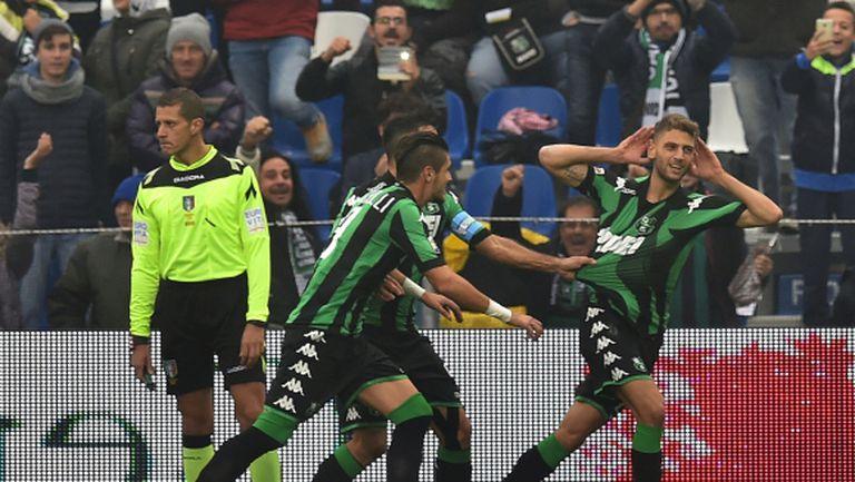 Лацио се издъни срещу изненадата на сезона (видео)